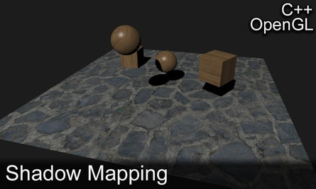 Creates shadows for objects in a 3D scene to increase the realism of the scene.